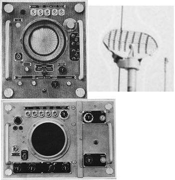 Радиолокационная станция SV и ее антенна