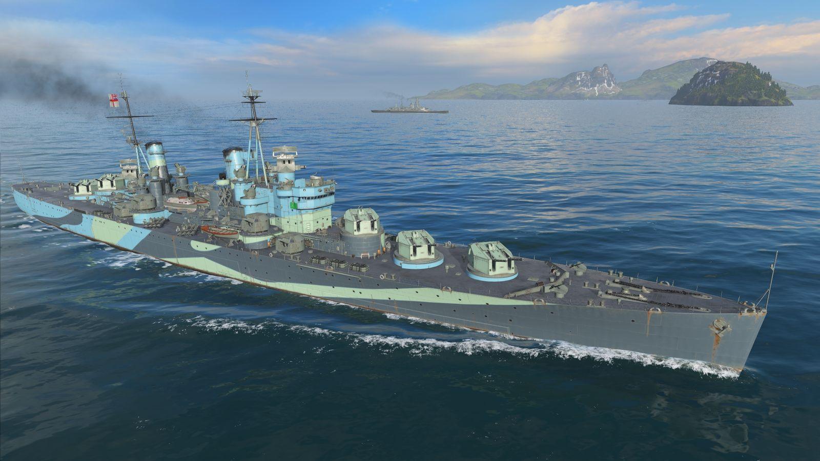 HMS Minotaur 1947 WoWS