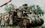 M3 Lee evaluated after beeing destroyed in battle.jpg