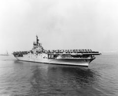 «Боксер» в заливе Сан-Франциско, ноябрь 1953
