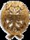 знак для окончивших Офицерский класс Морского кадетского корпуса или Академический курс морских наук.
