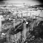 Magnificent_(left)_and_Bonaventurel_under_construction_at_Harland_and_Wolff_in_1944.jpg