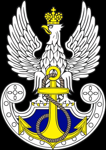 Файл:Эмблема ВМС Польши.png