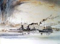 Картина IAN MARSHALL - SMS GOEBEN & BRESLAU