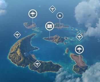 Игровая схема «Жемчужные острова»