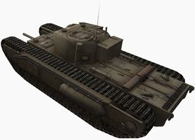 Wot churchill 1 best gun