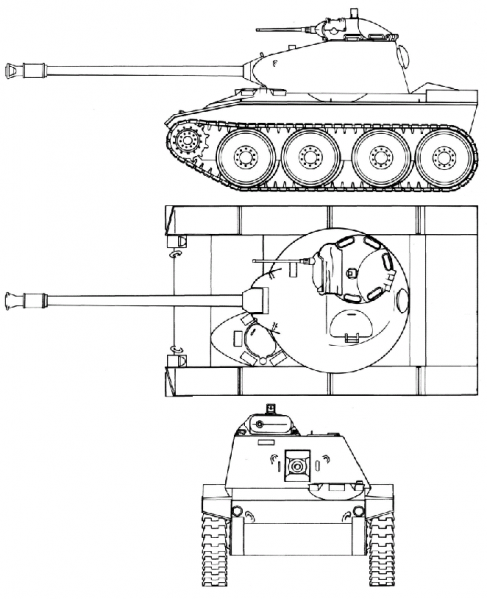 Datei:T71 drawingl proposed by Cadillac.png