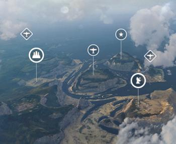 Игровая схема «Крылья войны»