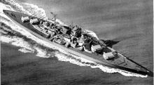 Линкор Tirpitz.
