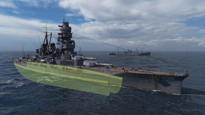3-противоторпедная_защита_Kongō.jpg